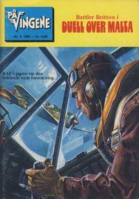 Cover Thumbnail for På Vingene (Serieforlaget / Se-Bladene / Stabenfeldt, 1963 series) #3/1981