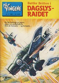 Cover Thumbnail for På Vingene (Serieforlaget / Se-Bladene / Stabenfeldt, 1963 series) #4/1981