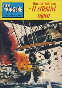 Cover Thumbnail for På Vingene (Serieforlaget / Se-Bladene / Stabenfeldt, 1963 series) #5/1981