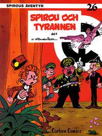 Cover Thumbnail for Spirous äventyr (Carlsen/if [SE], 1974 series) #26 - Spirou och tyrannen del 1