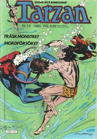 Cover Thumbnail for Tarzan (Atlantic Förlags AB, 1977 series) #13/1980
