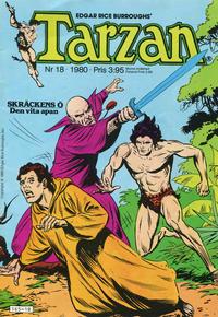 Cover Thumbnail for Tarzan (Atlantic Förlags AB, 1977 series) #18/1980