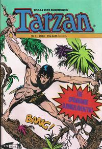 Cover Thumbnail for Tarzan (Atlantic Förlags AB, 1977 series) #3/1983