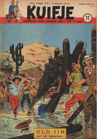 Cover Thumbnail for Kuifje (Le Lombard, 1946 series) #11/1952