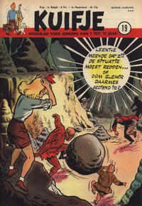 Cover Thumbnail for Kuifje (Le Lombard, 1946 series) #19/1952