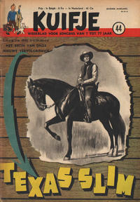 Cover Thumbnail for Kuifje (Le Lombard, 1946 series) #44/1952