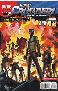 Cover Thumbnail for New Crusaders (Archie, 2012 series) #2