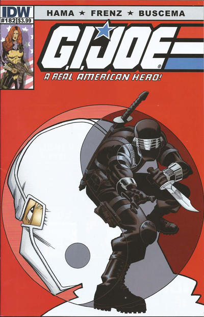 Cover for G.I. Joe: A Real American Hero (IDW, 2010 series) #182