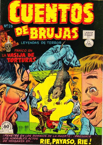 Cover for Cuentos de Brujas (Editora de Periódicos La Prensa S.C.L., 1951 series) #26
