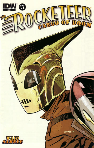Cover for The Rocketeer: Cargo of Doom (IDW, 2012 series) #3