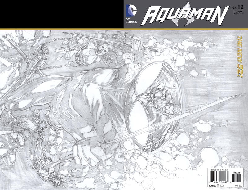 Cover for Aquaman (DC, 2011 series) #12