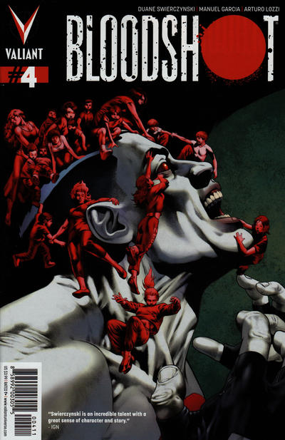 Cover for Bloodshot (Valiant Entertainment, 2012 series) #4 [Cover A - Arturo Lozzi]