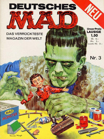 Cover for Mad (BSV - Williams, 1967 series) #3