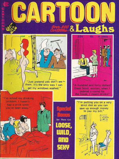Cover for Cartoon Laughs (Marvel, 1963 series) #v10#3