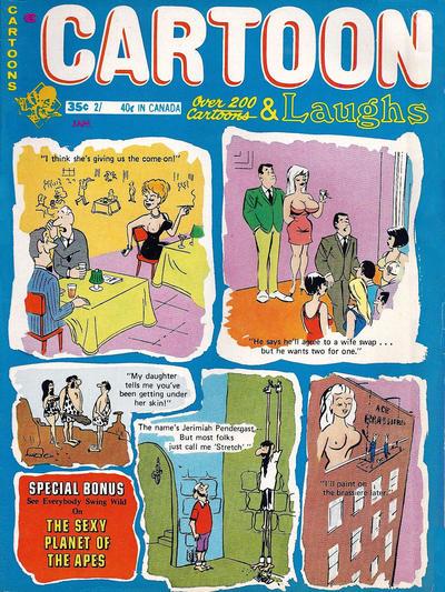 Cover for Cartoon Laughs (Marvel, 1962 series) #v10#1