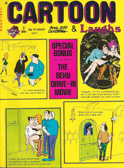 Cover for Cartoon Laughs (Marvel, 1963 series) #v9#5