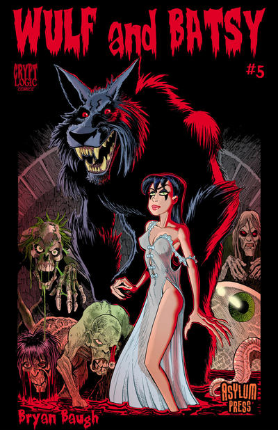 Cover for Wulf and Batsy (Viper, 2008 series) #5