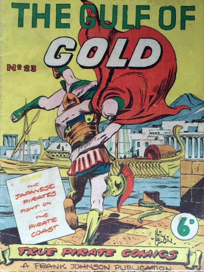 Cover for True Pirate Comics (Frank Johnson Publications, 1946 ? series) #23