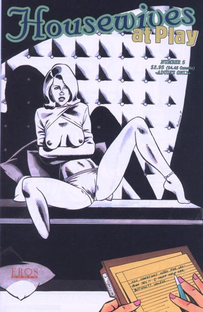 Cover for Housewives at Play (Fantagraphics, 1999 series) #5