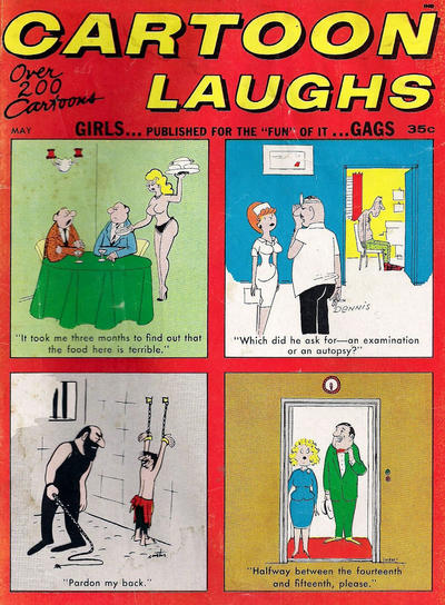 Cover for Cartoon Laughs (Marvel, 1962 series) #v6#3