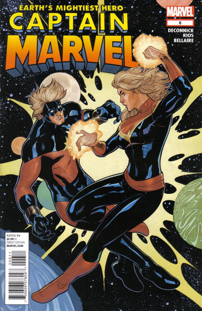 Cover for Captain Marvel (Marvel, 2012 series) #6