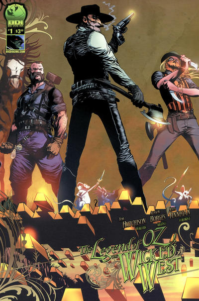 Cover for Legend of Oz: The Wicked West (Big Dog Ink, 2012 series) #1 [Cover E - Eric Basaldua]