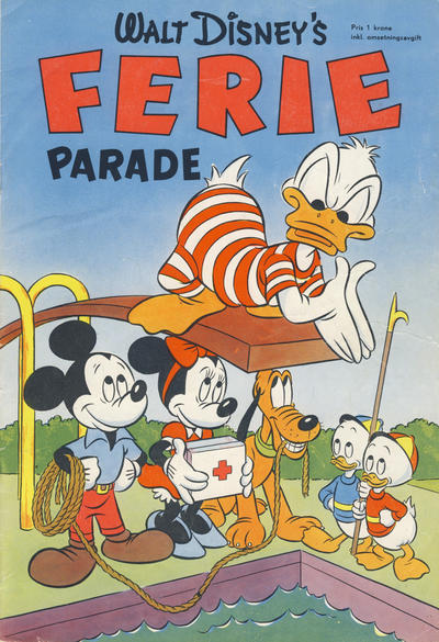 Cover for Walt Disney's serier (Hjemmet / Egmont, 1950 series) #[3/1953]