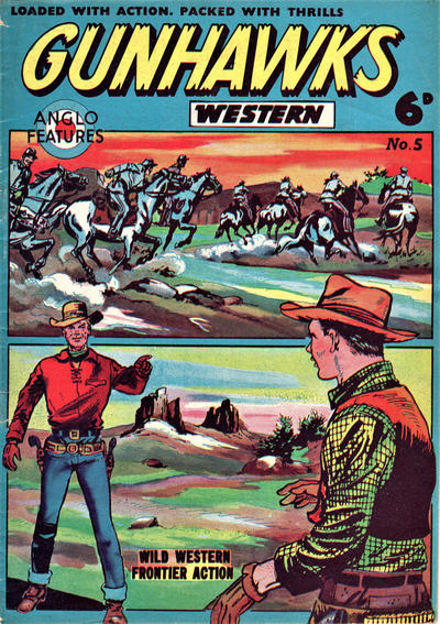 Cover for Gunhawks Western (Mick Anglo Ltd., 1960 series) #5