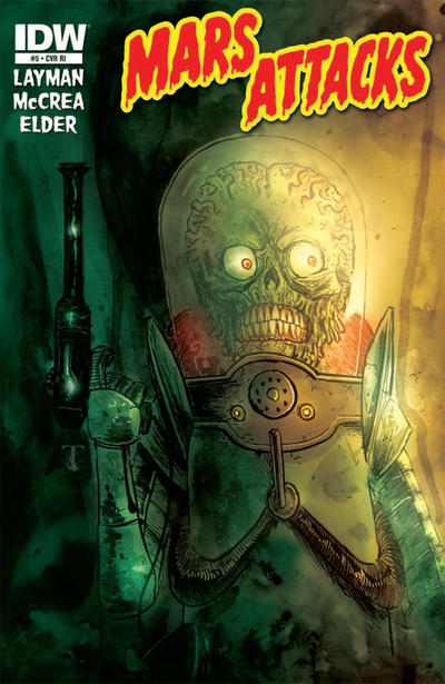 Cover for Mars Attacks (IDW, 2012 series) #5 [Retailer incentive]