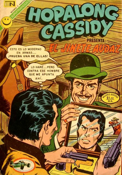 Cover for Hopalong Cassidy (Editorial Novaro, 1952 series) #212