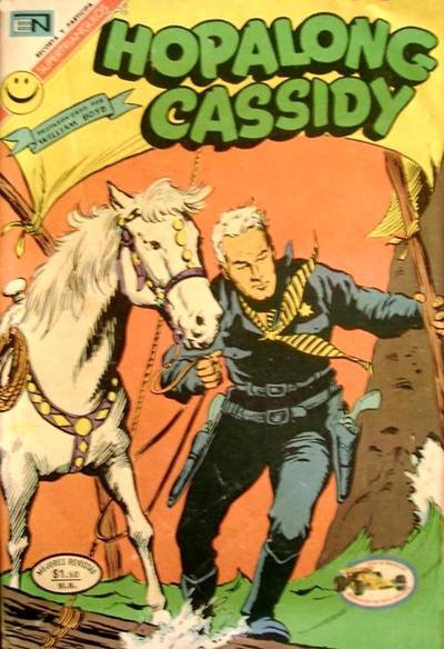 Cover for Hopalong Cassidy (Editorial Novaro, 1952 series) #209