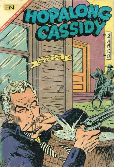 Cover for Hopalong Cassidy (Editorial Novaro, 1952 series) #152