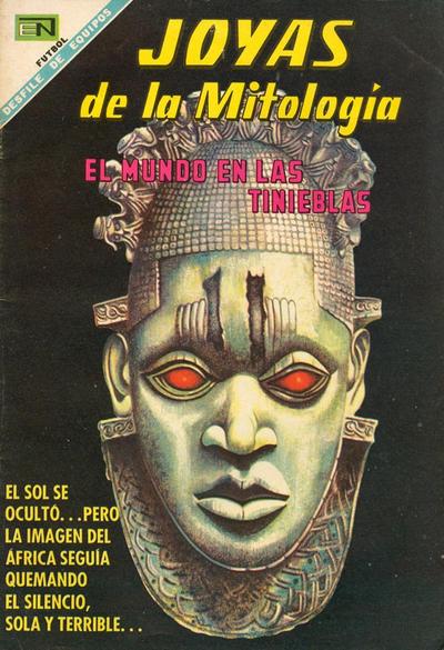 Cover for Joyas de la Mitología (Editorial Novaro, 1962 series) #104