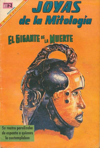 Cover for Joyas de la Mitología (Editorial Novaro, 1962 series) #107