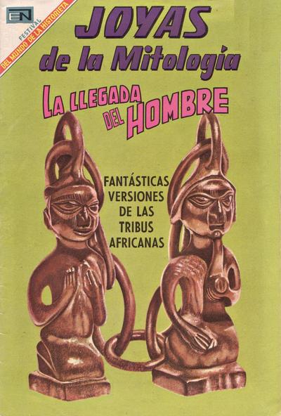 Cover for Joyas de la Mitología (Editorial Novaro, 1962 series) #105