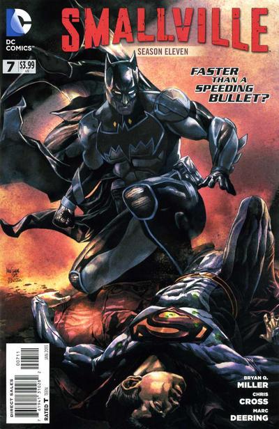 Cover for Smallville Season 11 (DC, 2012 series) #7