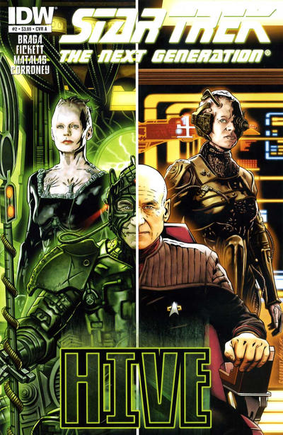 Cover for Star Trek TNG: Hive (IDW, 2012 series) #2 [Cover A - Joe Corroney]