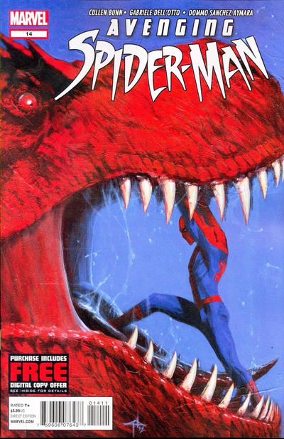 Cover for Avenging Spider-Man (Marvel, 2012 series) #14