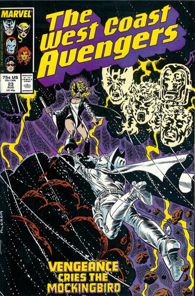 Cover for West Coast Avengers (Marvel, 1985 series) #23
