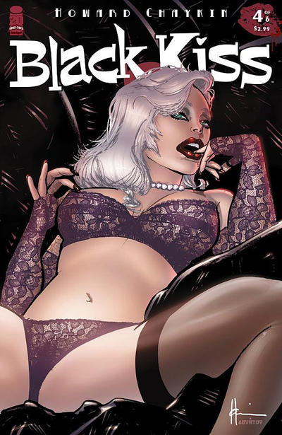 Cover for Black Kiss 2 (Image, 2012 series) #4