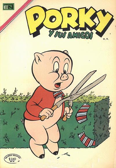Cover for Porky y sus Amigos (Editorial Novaro, 1951 series) #243