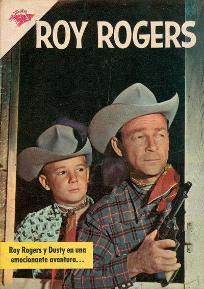 Cover for Roy Rogers (Editorial Novaro, 1952 series) #119