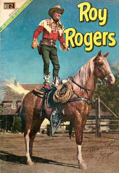 Cover for Roy Rogers (Editorial Novaro, 1952 series) #201