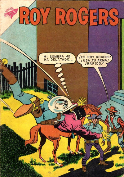 Cover for Roy Rogers (Editorial Novaro, 1952 series) #84