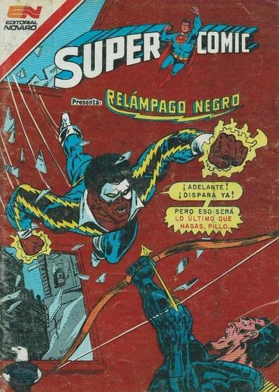 Cover for Supercomic (Editorial Novaro, 1967 series) #343