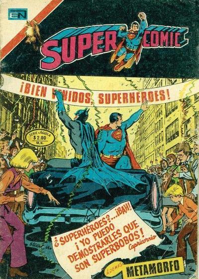 Cover for Supercomic (Editorial Novaro, 1967 series) #98
