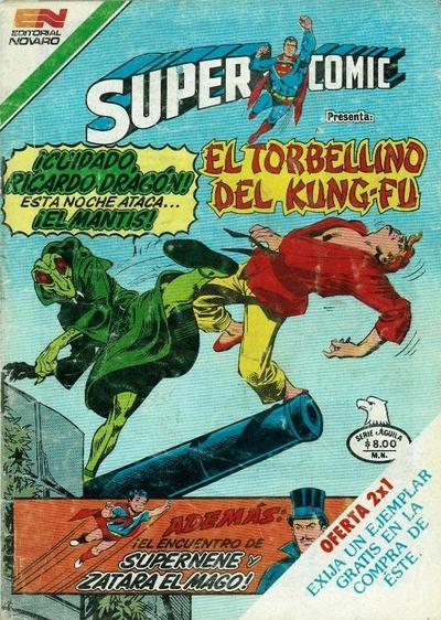 Cover for Supercomic (Editorial Novaro, 1967 series) #261
