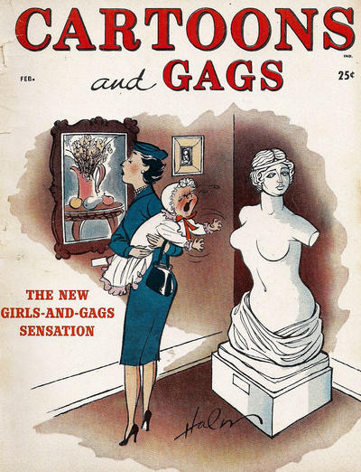 Cover for Cartoons and Gags (Marvel, 1959 series) #v4#1