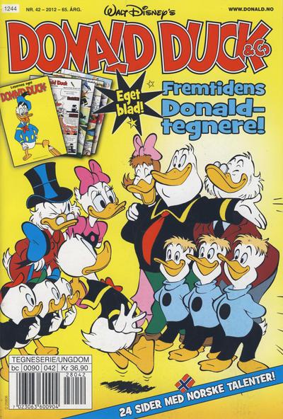 Cover for Donald Duck & Co (Hjemmet / Egmont, 1948 series) #42/2012