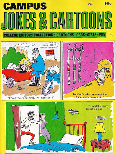 Cover for Campus Jokes & Cartoons (Marvel, 1967 series) #v2#6
